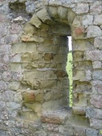 Wind and rain have sculpted these ruined limestone archways