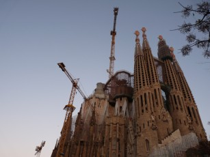 The Sagrada Familia - always under construction