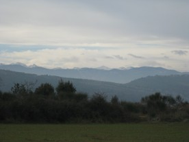 Glance the other way, and it's the Pyrenees