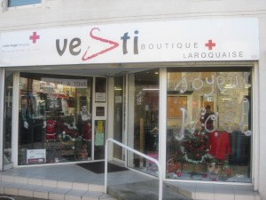 Vestiboutique just before Christmas.