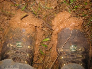 Boots - with added mud