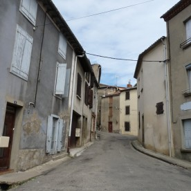 And here's Rue de la Joie: a happy name for a shabby street