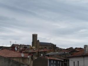 Laroque: a roofscape.
