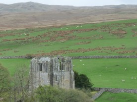 Shap Abbey - isolated among the hills