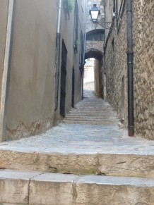 A street in the old Jewish quarter.