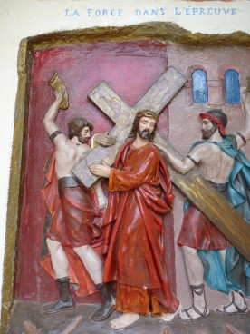 As a place of pilgrimage, you can walk the Stations of the Cross.....