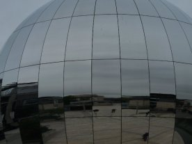 Here's the Planetarium near the harbour area