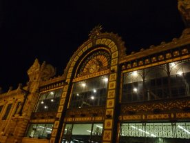 The station by night