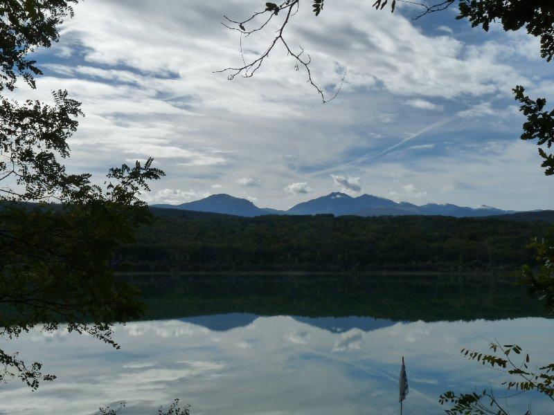 Lac de Montbel from La Régate