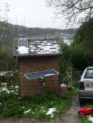 Small solar panels on the smallest room?