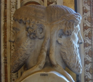 Janus in the Vatican: an image from Wikipedia
