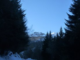 View from the car on the way up to Mont d'Olmes