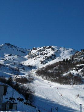 And.... the ski run