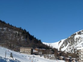 Mont d'Olmes, the resort.