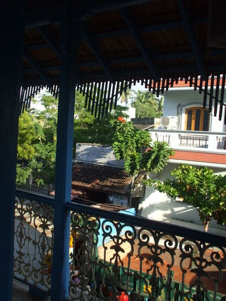 Is this France?  Or India?  Actually, it's the view from the window of my hotel in Pondicherry back in 2007.