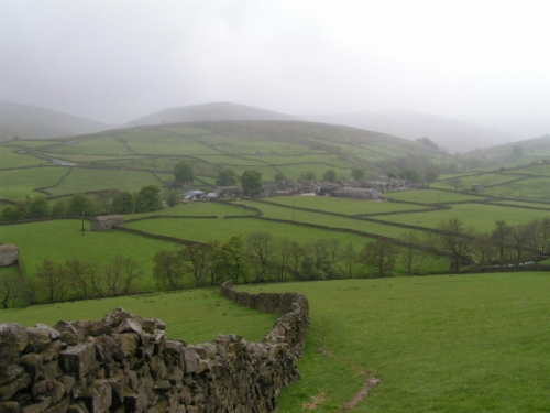 The Yorkshire Dales.  They're not bad either, are they?