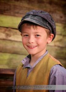 Here's Alex as Gavroche ((S &J Walkden Photography)