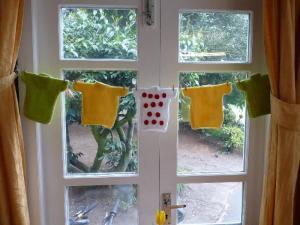 Jolly jerseys at the windows.