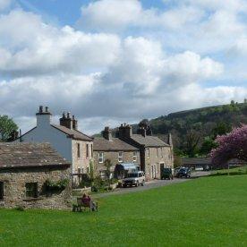 West Burton village green