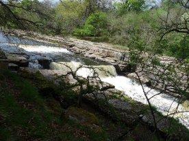 The falls at Aysgarth.