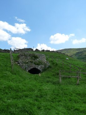A disused ancient limekiln: there are plenty in the area.