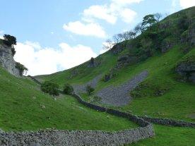 Drystone walls still divide the ancient field boundaries.