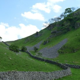Drystone walls still divide the ancient field boundaries.