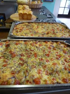 Focaccia in waiting.