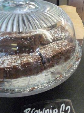 Mmmm. Chocolate brownies.