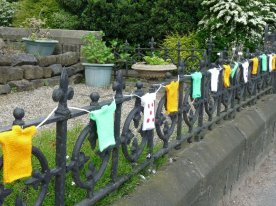 House railings in Killinghall.