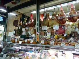 Ham, salami and other cured meats
