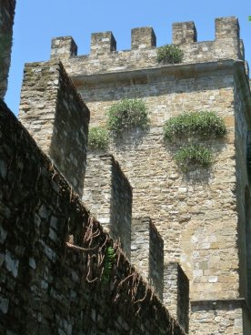 The city walls near Porta San Frediano.