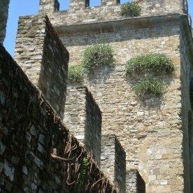 The city walls near Porta San Frediano.