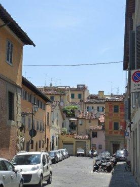 A back street near the church of San Frediano.
