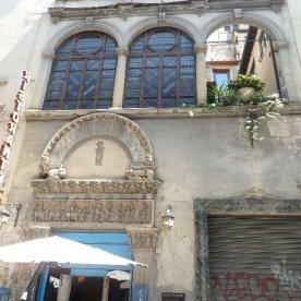 Once a church, now a neighbourhood restaurant.
