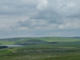 Looking back towards Malham Tarn.