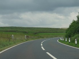 On the route in Wharfedale.