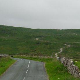 The road near Buckden.