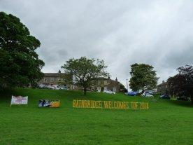Bainbridge welcomes the Tour.
