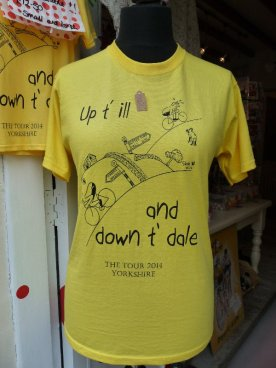 ... selling a right Yorkshire T shirt....