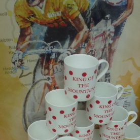 ... and King of the Mountain mugs.