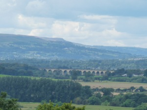 Lunchtime view over the Crimple Valley.