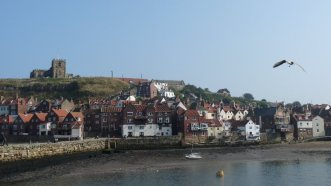 The harbour at Whitby.