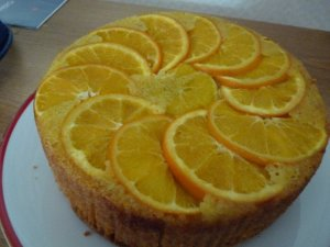 Polenta and Olive Oil Orange Cake
