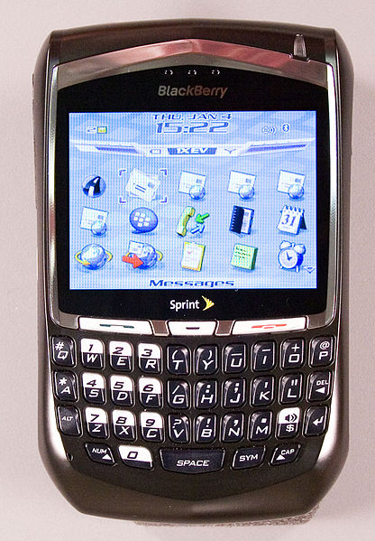 ....or BlackBerry? (Wikimedia Commons)