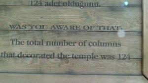 Helpful tourist information.