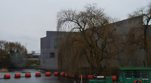The Hepworth Gallery.