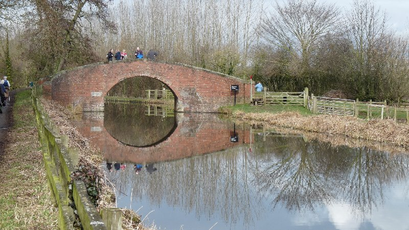 One of the canal bridges.