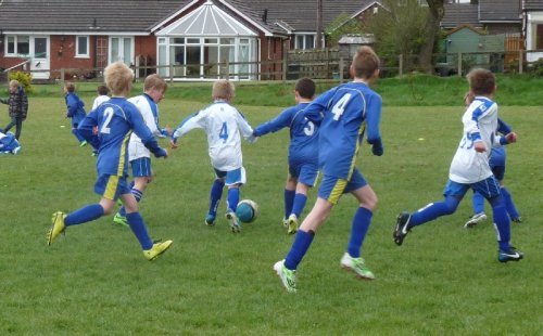Turton Tigers in action.