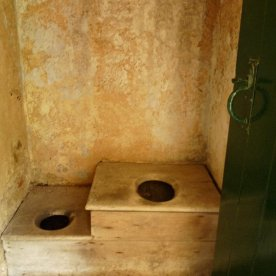 A privy for two.